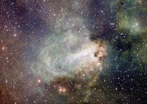 M17 via the Very Large Telescope