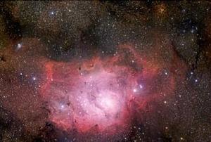 M8  via ESO/S. Guisard/S. Brunier