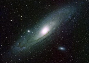 Great galaxy in Andromeda