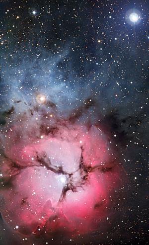 The Trifid Nebula, or M20 | Clusters Nebulae Galaxies ...
