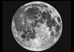 The Full Moon as seen from Earth