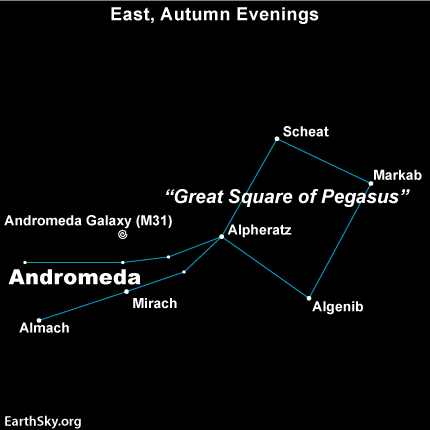 Almach looks like a single star to the unaided eye.  In skylore, Almach marks the Princess Andromeda's left foot.