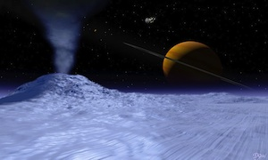 Ice volcanoes likely on Saturn's moon Titan, say scientists.