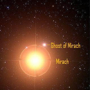 Mirach's ghost