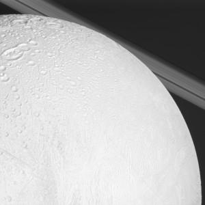 Image of Enceladus taken Nov. 30, 2010 by NASA's Cassini mission.