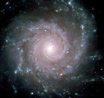 M74, aka the Phantom Galaxy.  Image via NASA, ESA and Gemini Observatory.