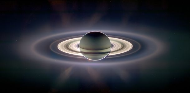 Saturn eclipsing the sun, as seen by Cassini spacecraft in 2006. More about this image. Credit: CICLOPS, JPL, ESA, NASA