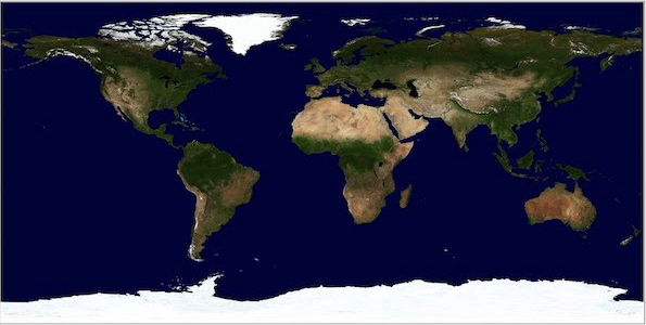 See earth from space 500 million year in the past space earthsky earth 500 million years ago via planetary habitability laboratory earth now via planetary habitability laboratory publicscrutiny Choice Image