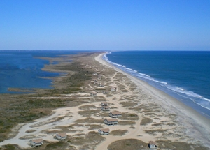 South Core Banks, Cape Lookout National Seashore, North Carolina. Image credit: National Park Service.