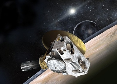 Artist's concept of New Horizons. Image Credit: NASA