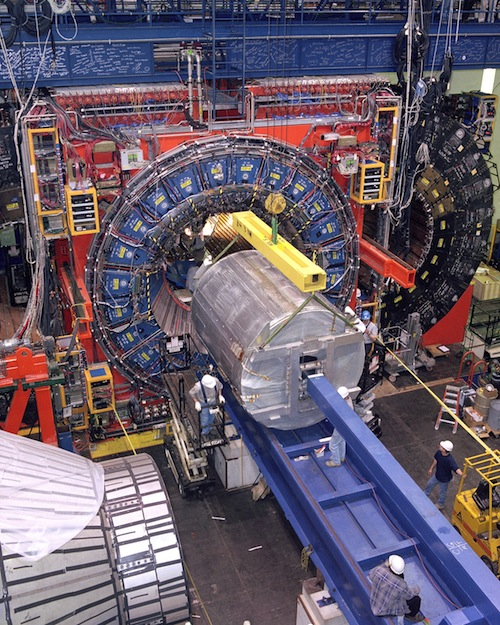 Collider Detector at Fermilab used to find new particle