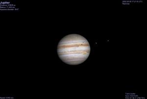 Jupiter at east quadrature