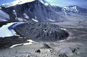 Novarupta lava dome (USGS)