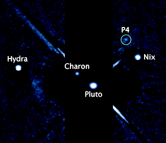 New moon of Pluto, called P4, discovered using Hubble telescope