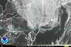 Visible satellite  imagery of tropical storm Irene.  Image Credit:  National Hurricane Center