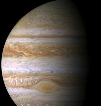 Planet Jupiter imaged by NASA's Cassini spacecraft