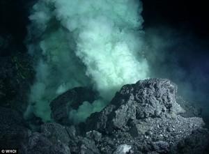 The first successful forecast of underwater volcano ... Pacific Ocean Underwater Volcanoes