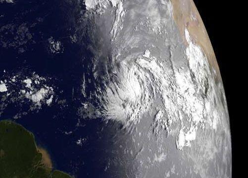 GOES-13 image of Tropical Storm Katia