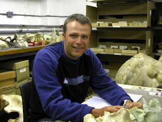 Paleoanthropologist Darryl de Ruiter of Texas A&M University, a co-author of reports on new species A. sediba.