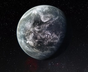 Newly discovered world might be like Earth, with water and life.