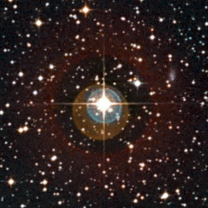 Close-up of the sky around the star HD 85512