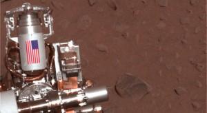 Pieces of World Trade Center on Mars.  (NASA)