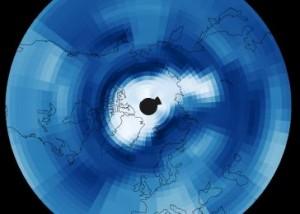 2011 Arctic ozone hole