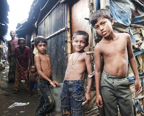 One billion people today live in slums. (UN)