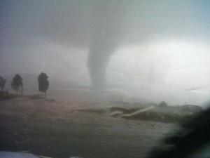 Tornado seen in Africa