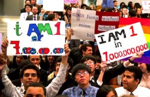 Who are the seven billion people alive in 2011?