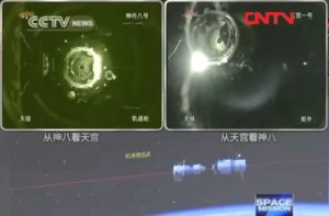 China's Historic First Space Dock