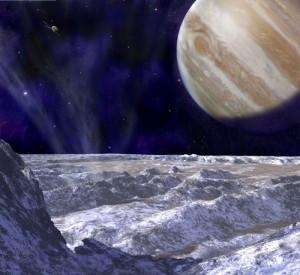 Europa Image credit- Mike Carroll, NASA/JPL/Caltech