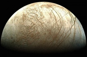 Scientists find signs of huge lakes on Europa, icy moon of Jupiter.