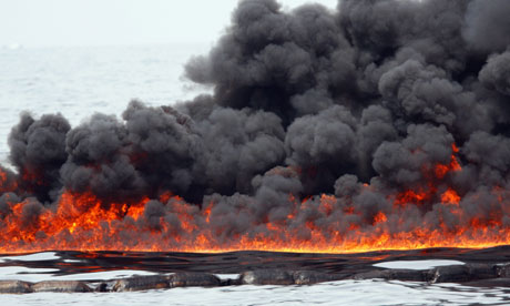 The Controlled Burning Of Natural Gas