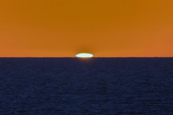 San Diego, California on October 25, 2012, taken by EarthSky Facebook friend Jim Grant.  Thanks Jim!