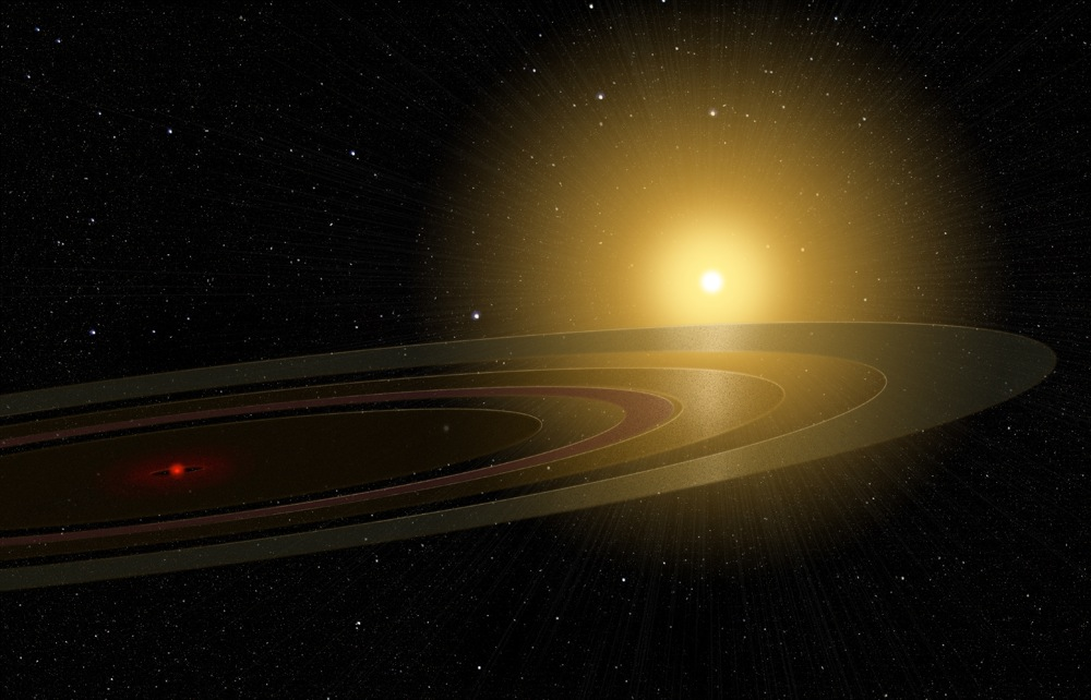 A ring system eclipses a star | Space | EarthSkyView Of Sun From Saturn