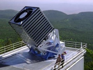 The 2.5-meter Sloan telescope at Apache Point Observatory, which did the SEGUE-2 star survey.