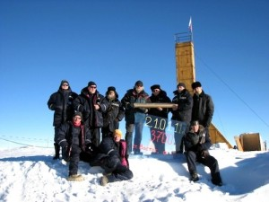 Russian scientists penetrate Antarctic ice to reach Lake Vostok in race to find alien-like life.