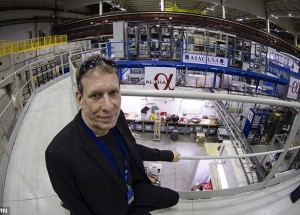 Jeffrey Hangst with CERN Alpha experiment