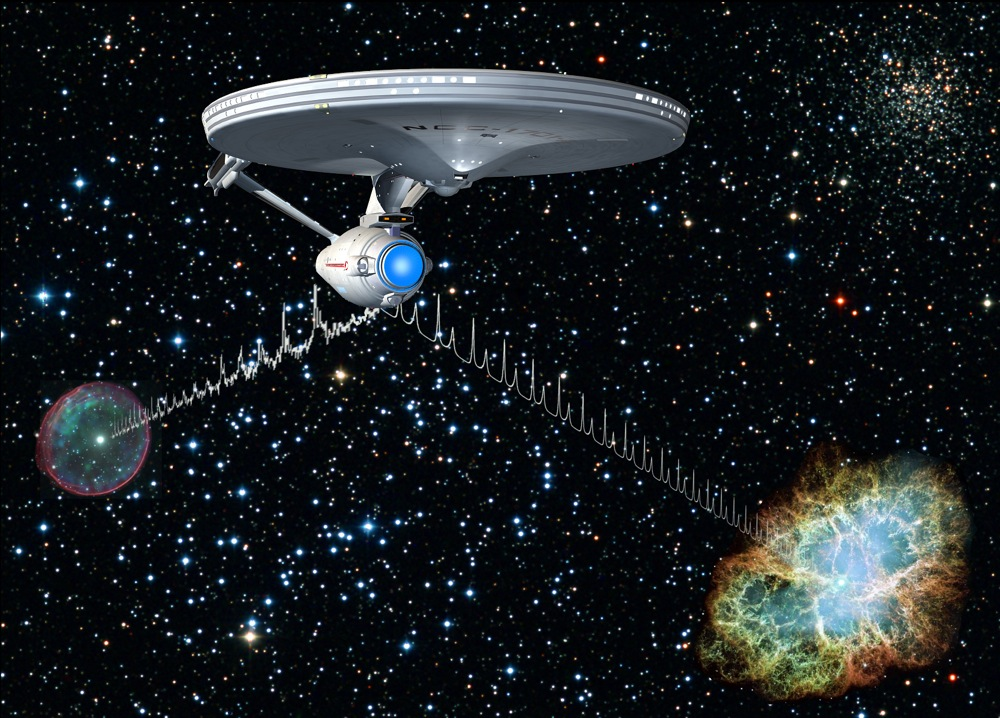 pulsars could help future astronauts navigate the universe