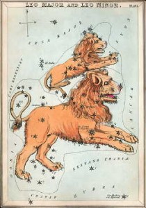 The constellation Leo the Lion from Urania. Credit: WikipediaWikipedia