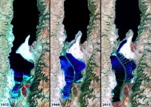 NASA Landsat images 1972-2011
