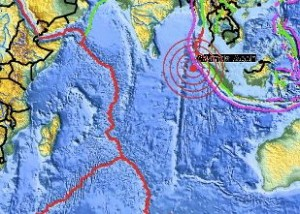 April 11, 2012 earthquake in Indian Ocean