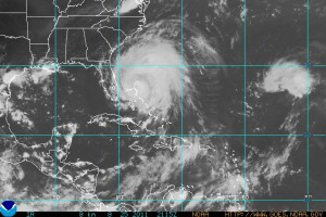 large size of Irene on 8.25.2011