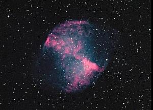 "M27 or the ""Dumbbell Nebula"""