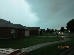 Tornado Norman OK April 13, 2012.  Via KFOR-TV