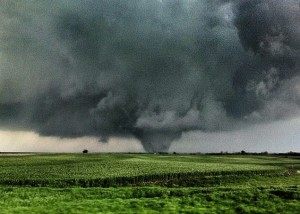 April 14, 2012 tornado in Kansas via Manuel Flores