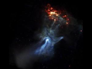 X-ray image of pulsar PSR B1509-58