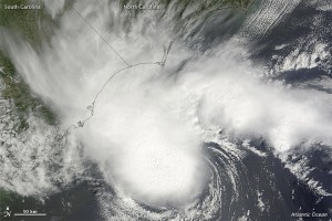 Tropical Storm Alberto via NASA