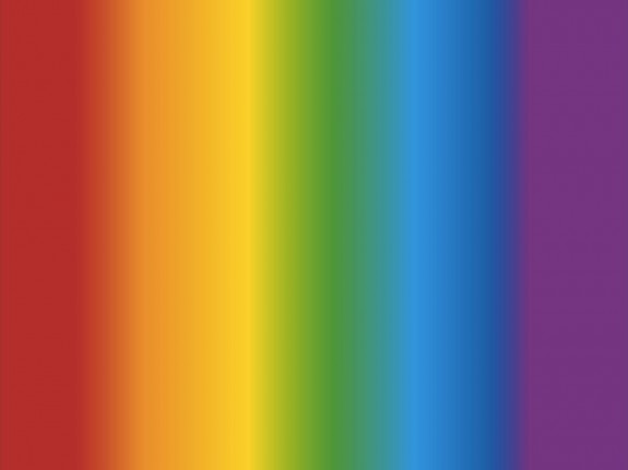 Color spectrum via Shutterstock